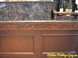 Italy - Wine Counter HM | Hidden Mickey Guy