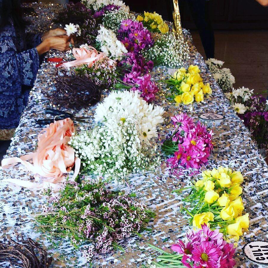 Flower Crowns #batmizvah #details #celebration #elegance #eventplanning #lenellevents @cultgaia by lenellevents