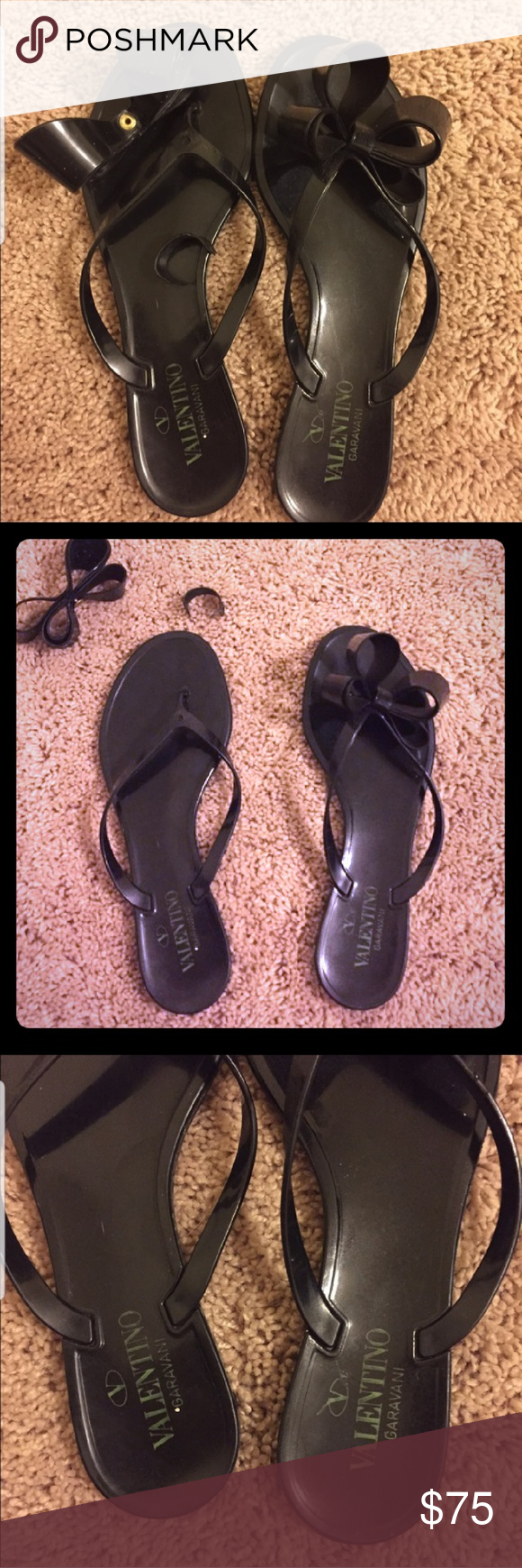 Valentino sandals, Valentino, Bow sandals