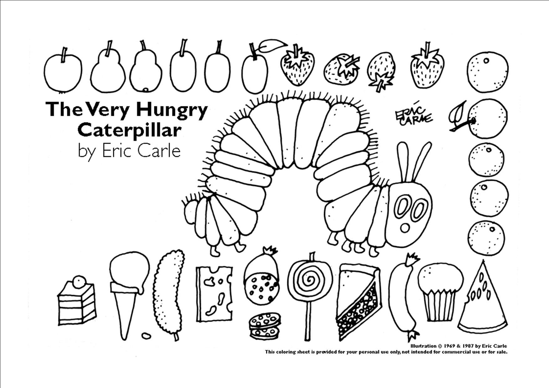 customize for party favors  hungry caterpillar preschool