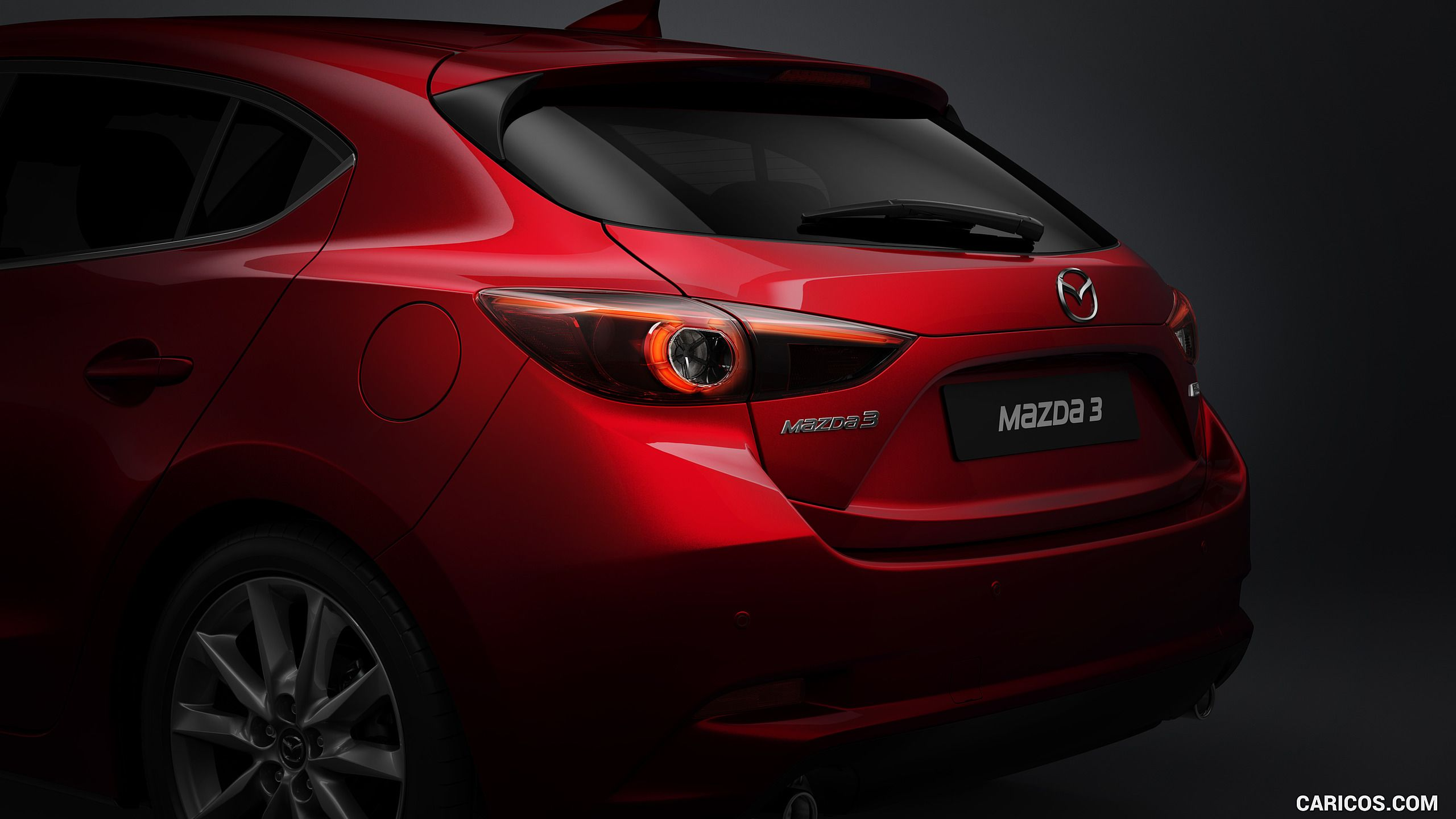 2017 mazda 3 5 door hatchback tail light hd