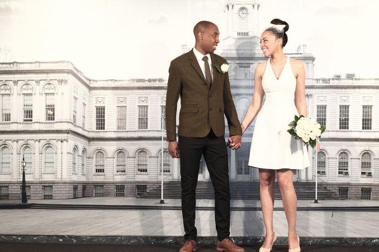 new york city hall nyc wedding photographer angelica radway photography bride and groom