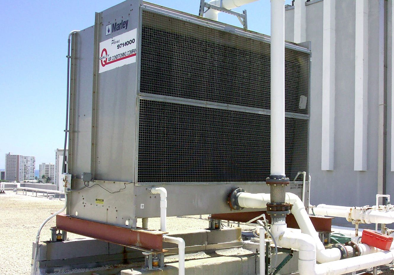 Spray Distribution On Cooling Tower