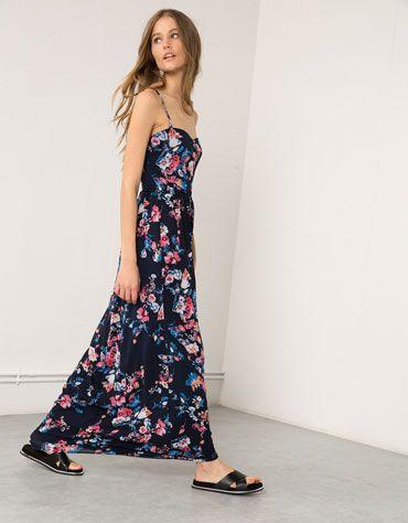Dluga Sukienka Bershka Bershka Bershka Polska Long Dress Maxi Dress Dresses