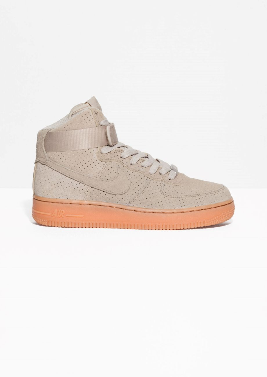 nike air force 1 hi suede off white boots