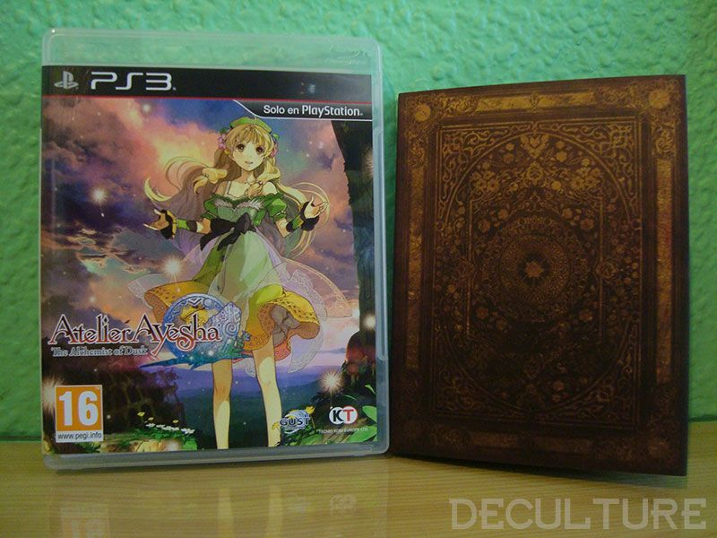 'Unboxing: Atelier Ayesha The Alchemist of Dusk' para PlayStation 3