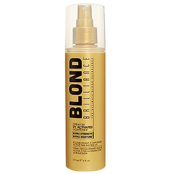 Brilliance Spray In Heat Activated Lightener Is An Innovative Formula That Creates Permanent Blond Highlights For Natural Looking Hair