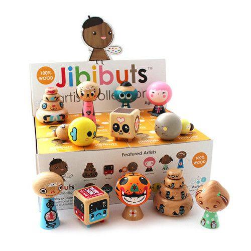 Jibibuts Artist Series Blind Box Vinyl Art Toys Designer Toys Art Toy