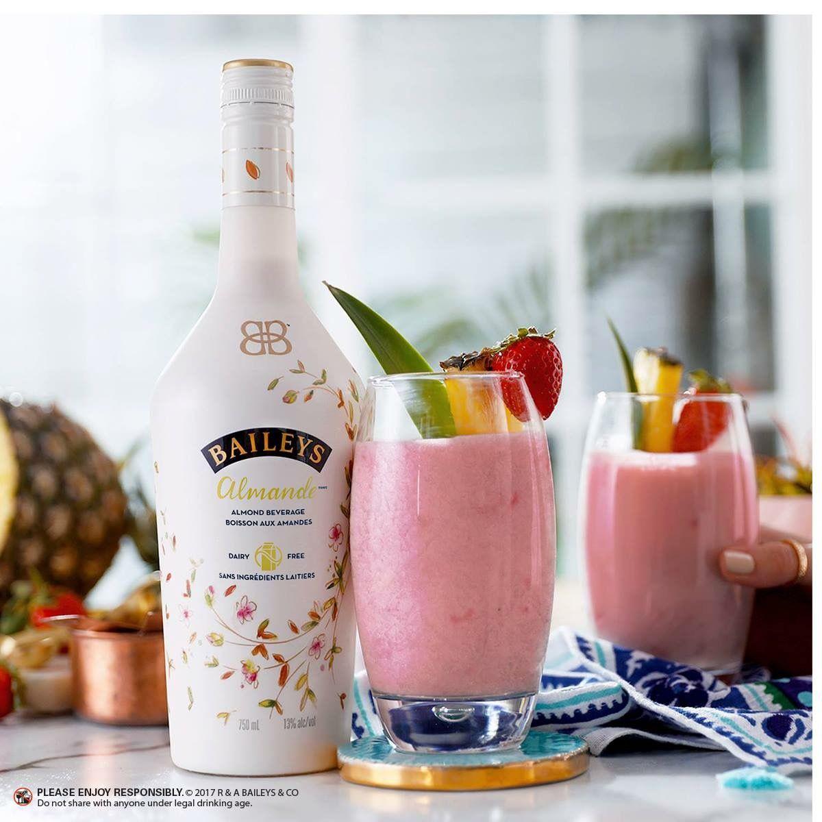 Baileys Almande Smoothie RECIPE: ½ Cup Pineapple; ½ Cup