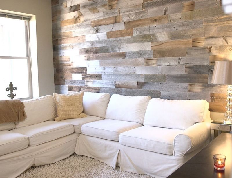 Removable Accent Wall Planks Artis Wall Reclaimed Wood Accent