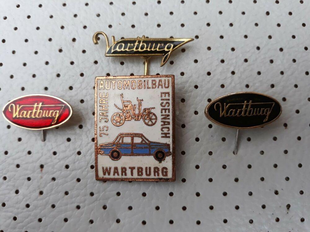 f06d08e57719 Wartburg Car Vintage Pins Collection For Sale DDR Germany anstecknadel  Oldtimer  Wartburg