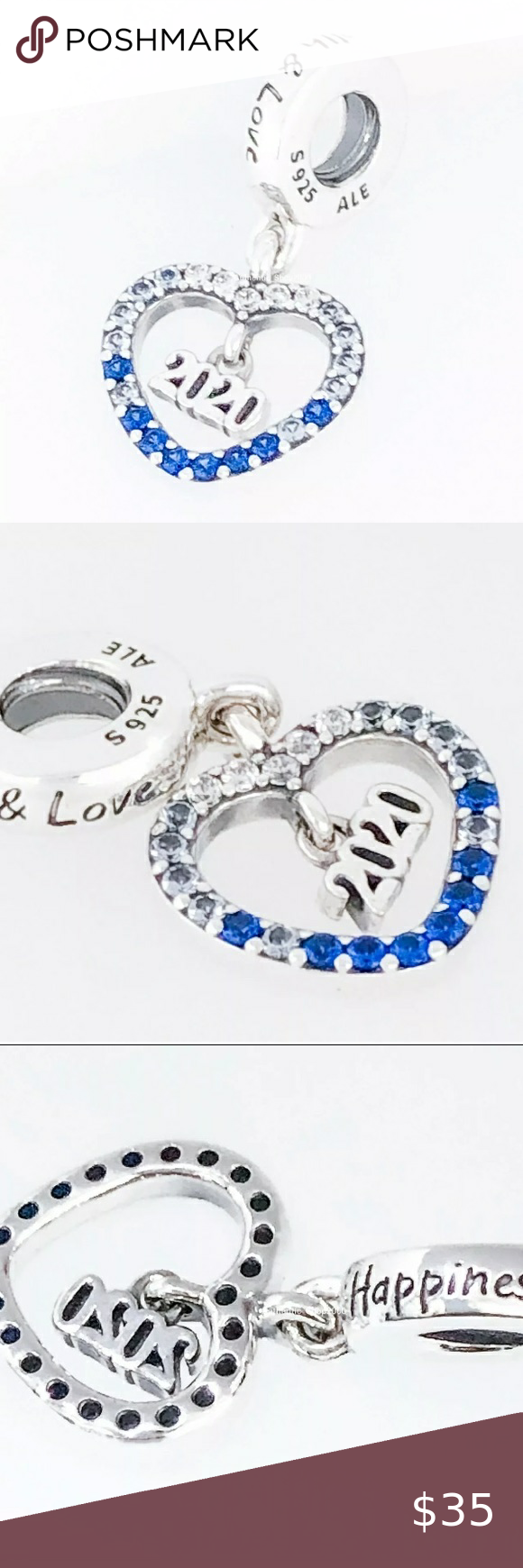 Pandora Jewelry 60% OFF!> Pandora 2020 New Year Charm Preowned but never worn or used Pandora 2020 dangle charm Blue and clear czs. Pandora flat gift box included Pandora Jewelry Bracelets #Jewelry #PANDORA #style #Accessories #shopping #styles #outfit #pretty #girl #girls #beauty #beautiful #me #cute #stylish #design #fashion #outfits #PANDORAbracelets #PANDORAcharm