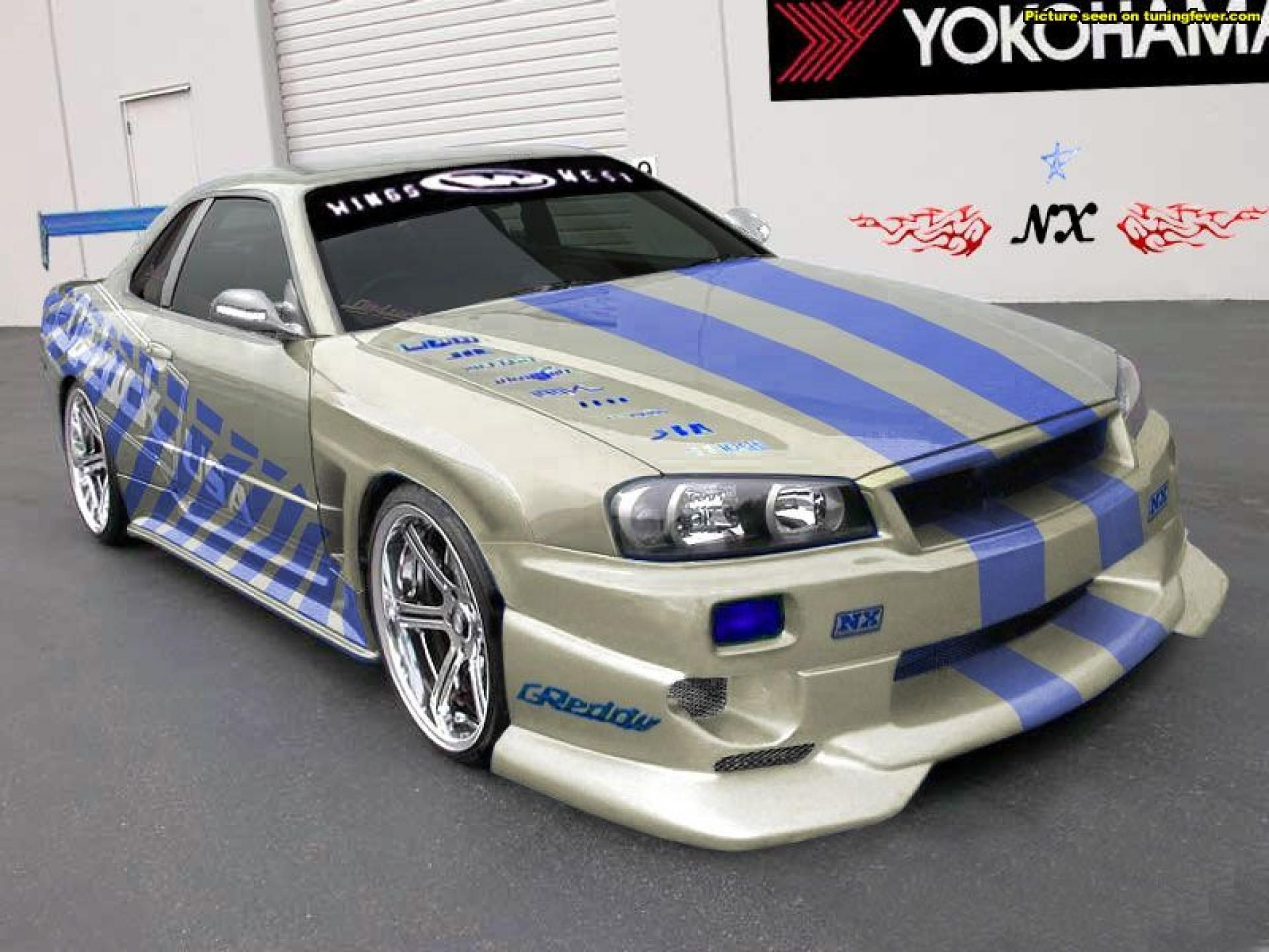 Nissan Skyline Gtr R34 Full Hd Desktop Wallpapers โปรเจกต น าลอง