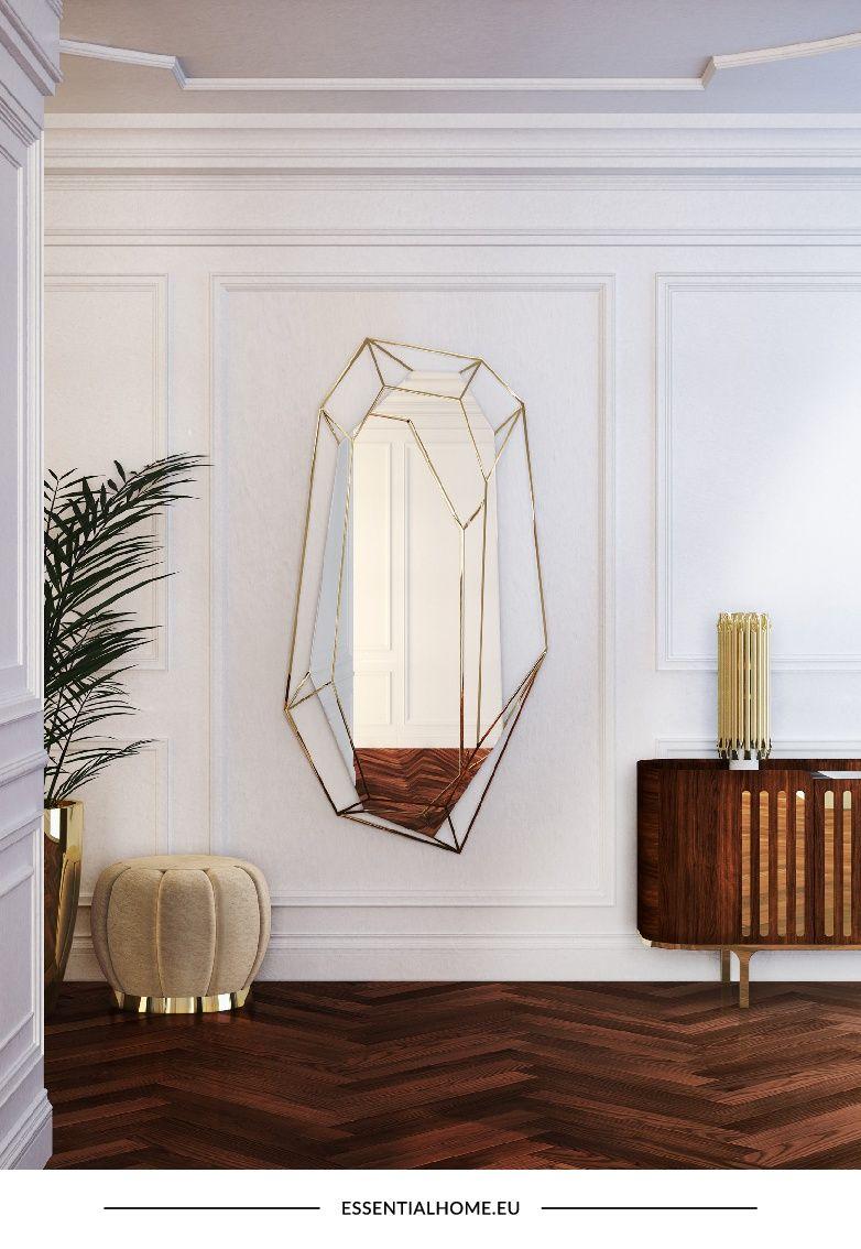 Gli specchi a parete hanno un grande impatto sull\'arredamento della ...
