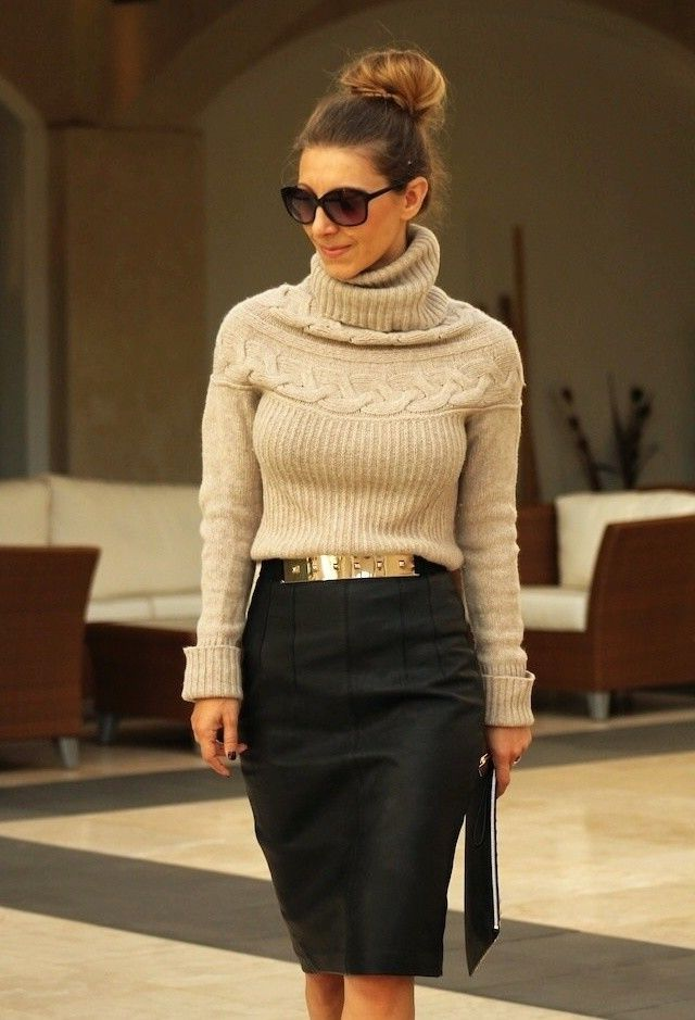 La jupe crayon a l'air fantastique – Mode Femme