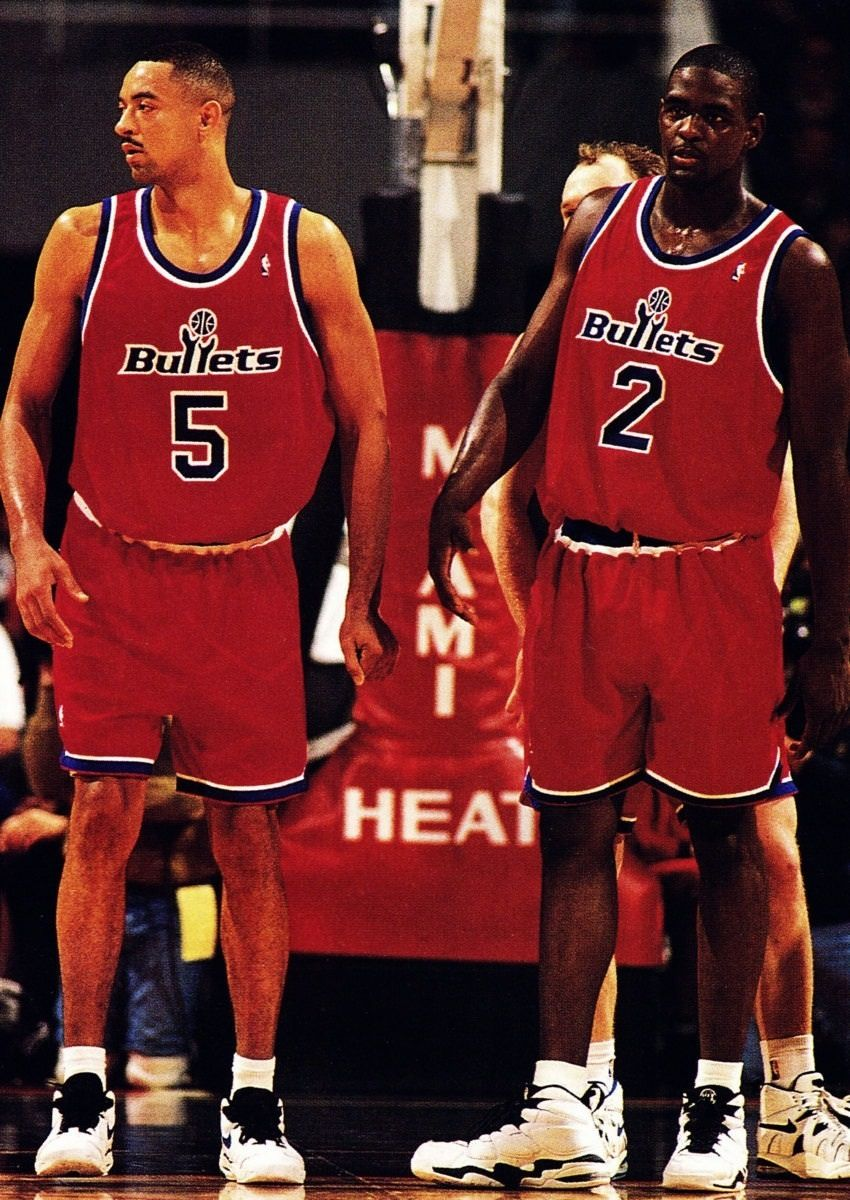 Juwan Howard & Chris Webber Washington Bullets