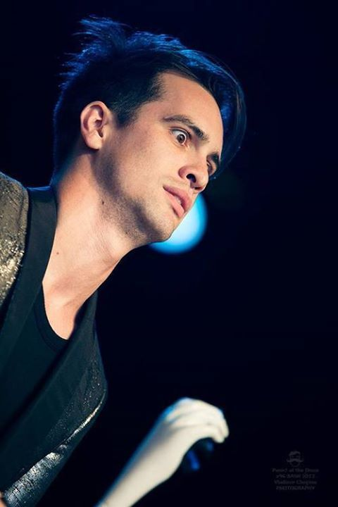 Hahaha I love Brendan's face here (btw he's from Panic! At the Disco) ((I think we know that))