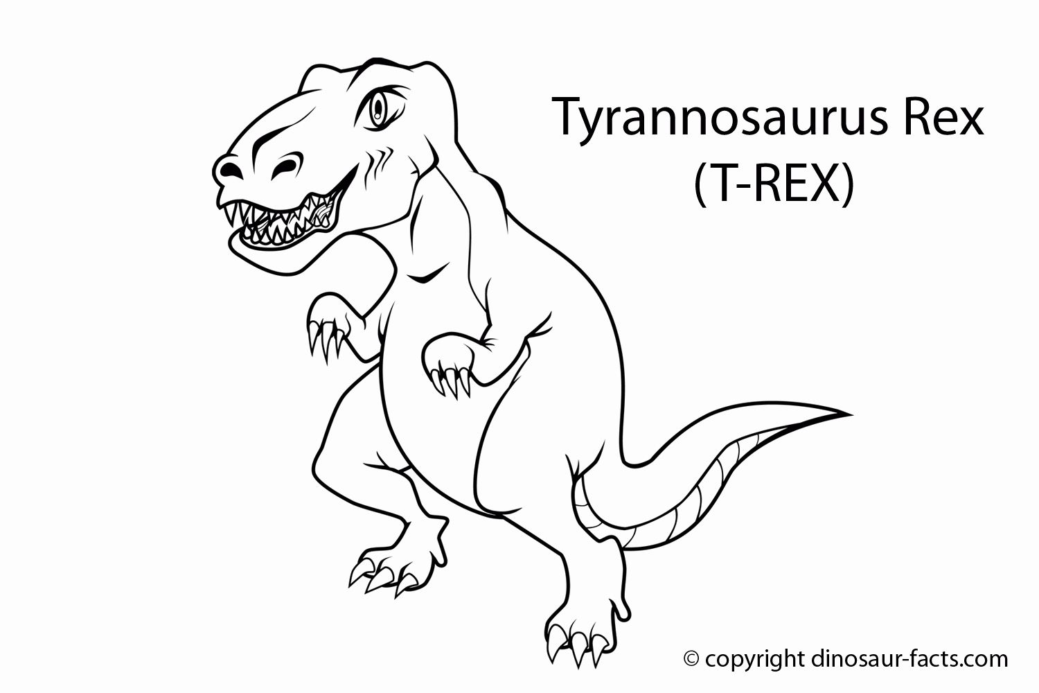 T Rex Coloring Page New Dinosaur T Rex Coloring Pages