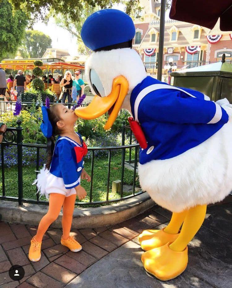 Donald At Disneyland Halloween 2020 Kids Donald Duck costume in 2020 | Duck costumes, Disney family