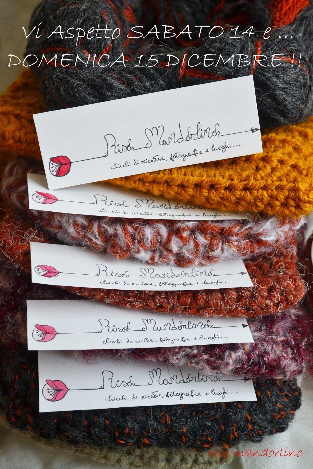 Mercatino di Natale 2013: lana-stoffa&Vintage!!