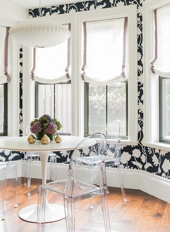 black and white floral wallpaper wonderful wall inspiration rh pinterest co uk