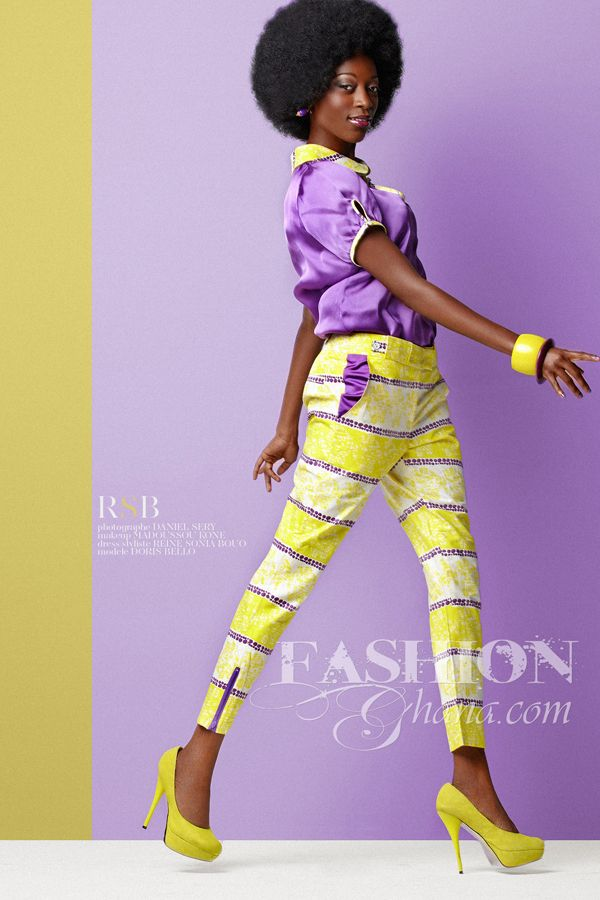 ♥New Ivory Coast Fashion Collection By Reine Sonia Bouo Shot by Daniel Sery