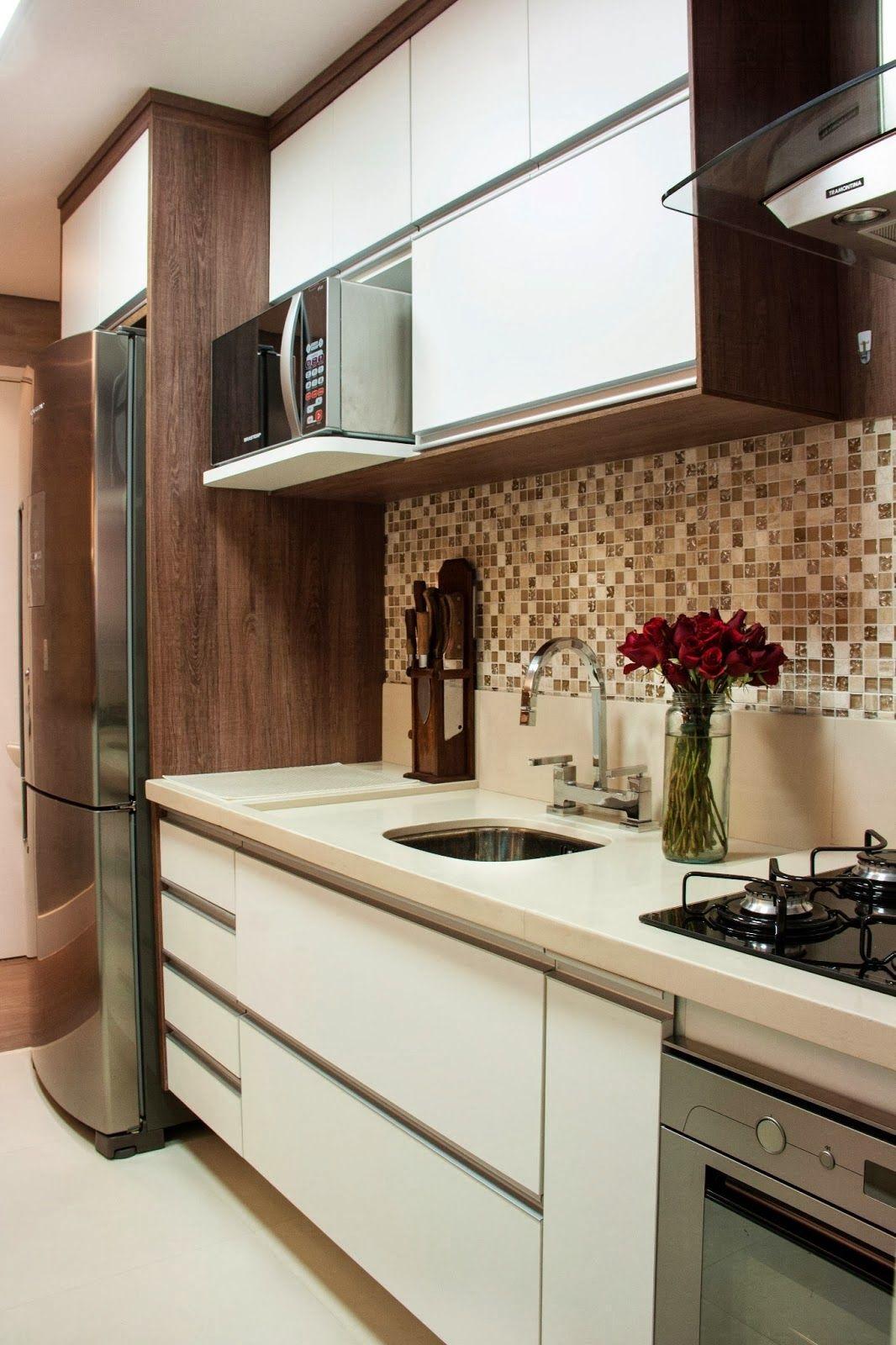 Cozinha pequena | Cozinhas pequenas | Pinterest | Cocinas ...