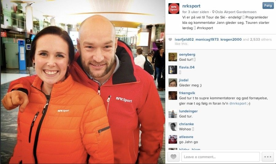 NRK - sociala medier strategi