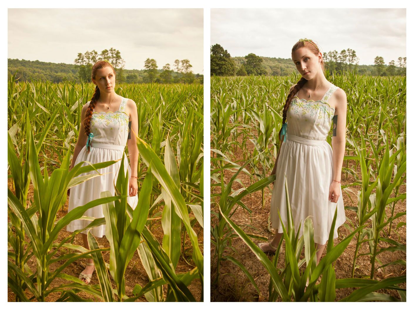 lady of the cornfield - justicepirate.com #vintage #60s #fashion #sundress #cornfield #blogger #justicepirate