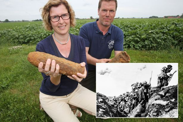 The First World War bombs that are still killing people in France | Despite the First World War taking place 100 years ago, unexploded shells are still being found in France - and since the end of the war 360 people have been killed and 500 injured in the town of Ypres.