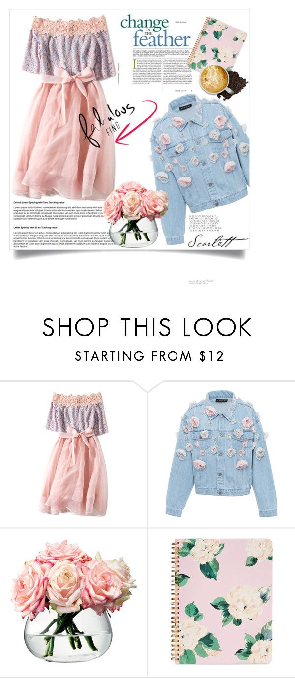 """""""dreamnig of soring"""" by kristina-bishkup ❤ liked on Polyvore featuring Anouki, LSA International and ban.do"""