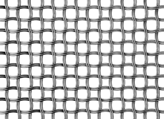 Banker Wire\\\'s mid-fill M22-80 helical twin wire mesh shown in ...