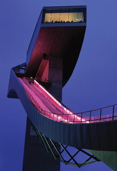 Bergisel ski jump innsbruck austria is an awesome site for Interior design innsbruck