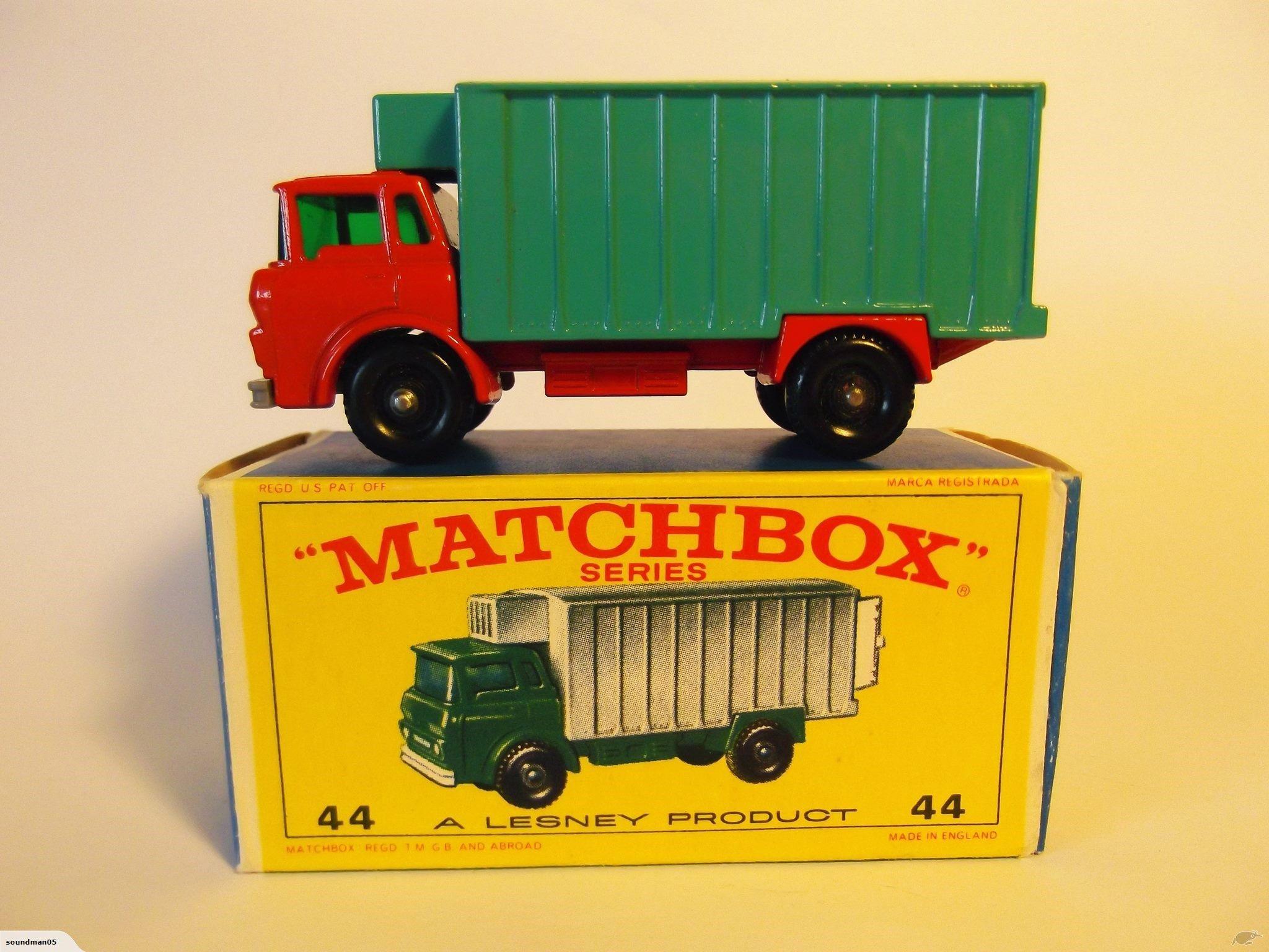 Lesney Matchbox 44 C Refrigerator Truck Trade Me