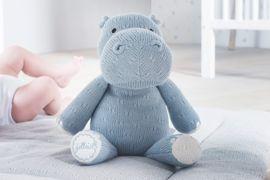 Knuffel Met Licht : Jollein knuffel hippo licht blauw baby lifestyle jollein in