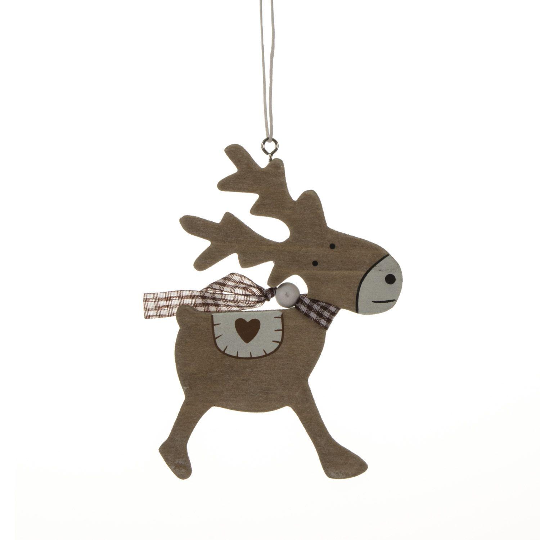 Hanging reindeer decoration reindeer decorations