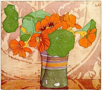 Still another Walter J Phillips woodblock.  What color!