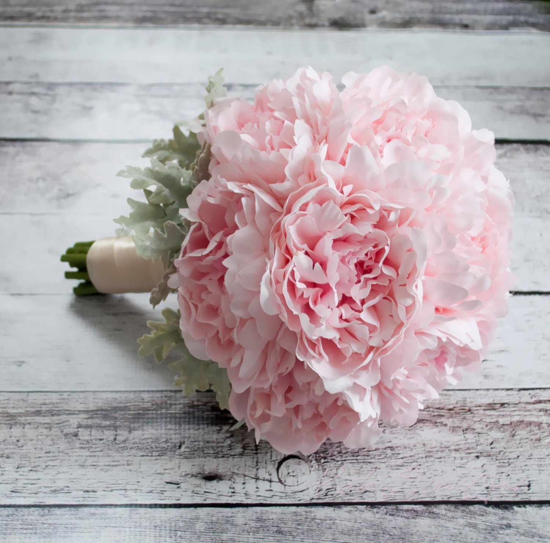 Blush Pink Peony Wedding Bouquet   Wedding Bouquets   Pinterest ...