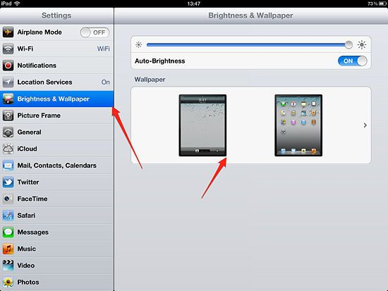 How to Change Wallpaper on an iPad Ipad wallpaper, Ipad