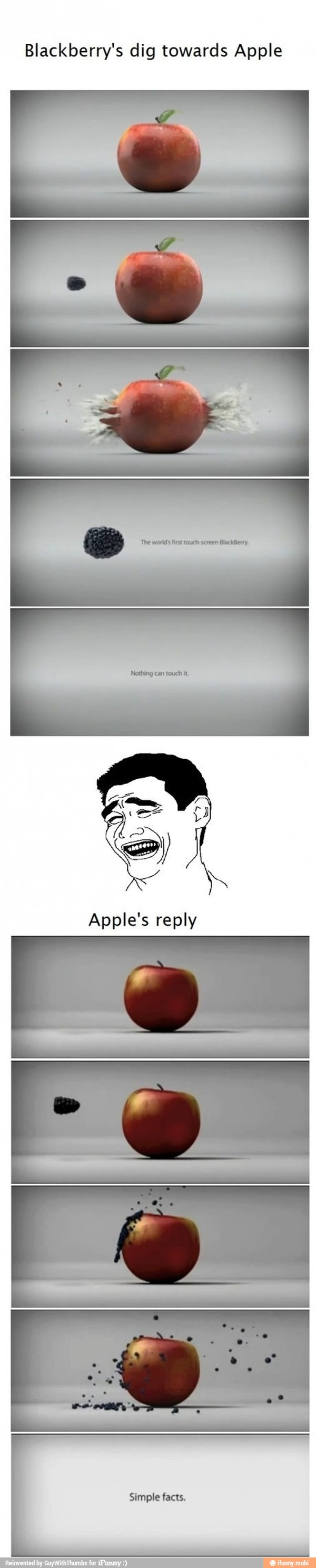 Apples reply