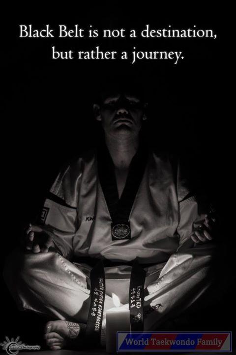 The Journey TaekwondoKarateMartial Arts Pinterest Martial Simple Taekwondo Quotes