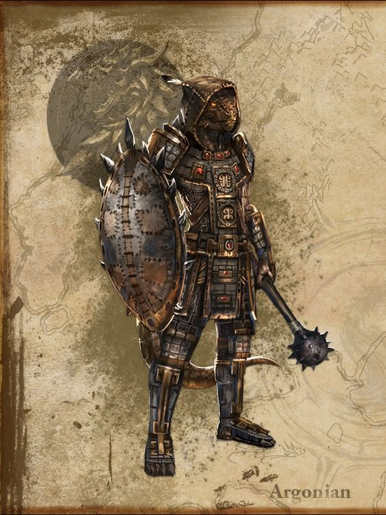 Argonian Elder Scrolls Online Elder Scrolls Races Elder