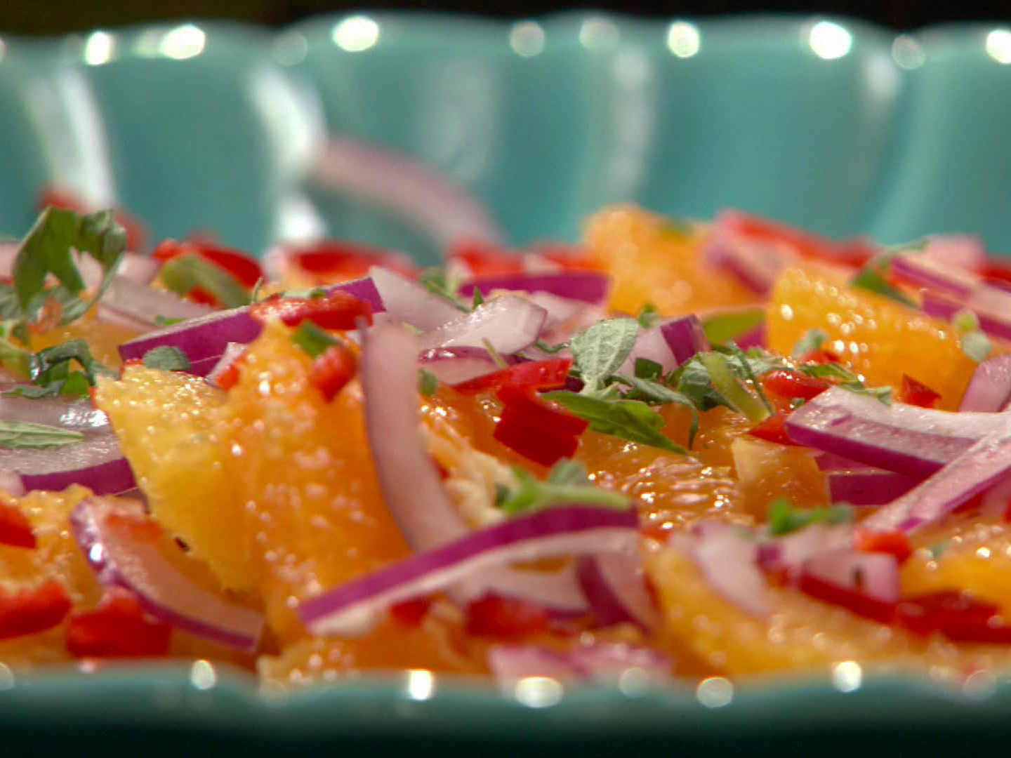 Get this all-star, easy-to-follow Orange Salad Spanish-Style recipe from Rachael Ray.
