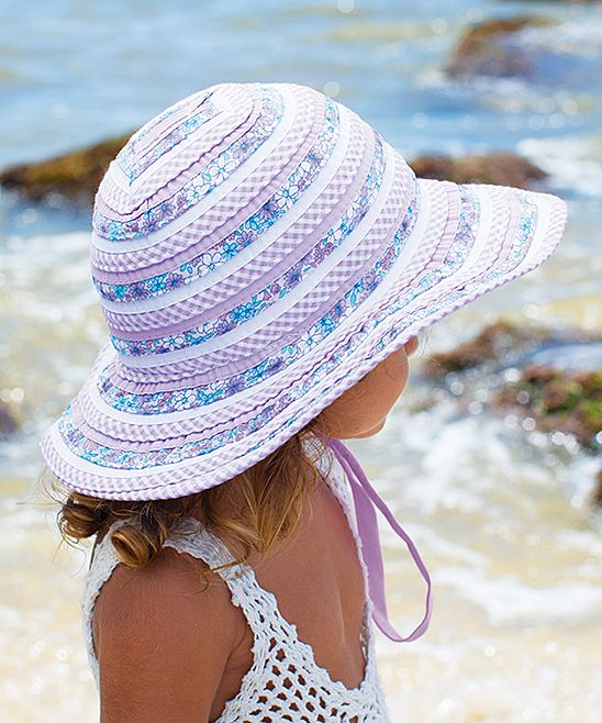 3ce5a6a2aadef Lilac Sweetheart Floppy Hat | Products | Hats, Sun hats, Baby sun hat