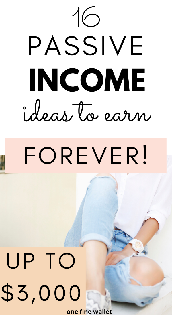 16 Smart Passive Income Ideas {Updated for 2020}