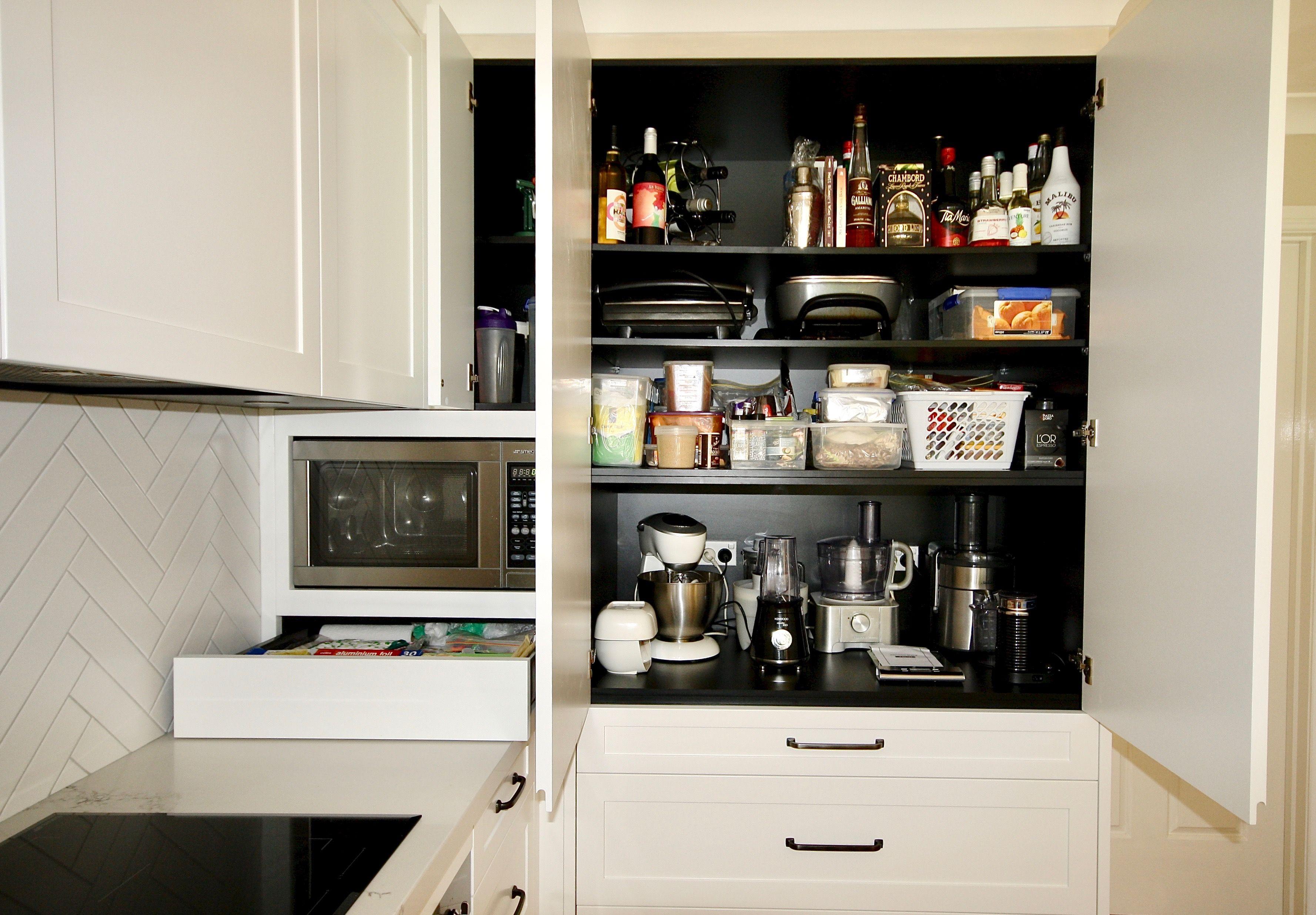 Pin On Appliance Cabinet Kitchen Ideas