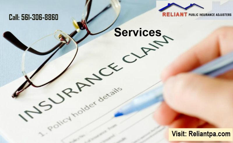 Insurance claim services are