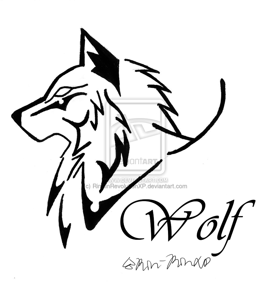 Wolf Line Drawing Tattoo : Tribal art the winged fox by plaguedace on deviantart