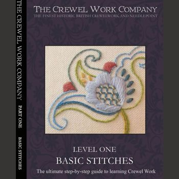The DVD - An Introduction to Crewel Embroidery