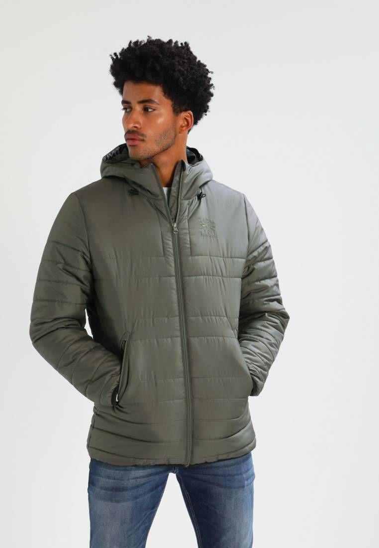 Reebok Classic Chaqueta De Invierno Urban Grey Largo De La Prenda 77 Cm Talla M Modelo Altura 189 Cm Lleva La Ta Winter Jackets Reebok Classic Jackets [ 1100 x 762 Pixel ]